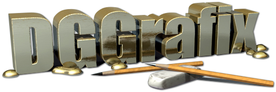 3D DG Grafix Logo Graphic
