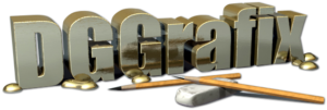 DG Grafix 3D Logo Graphic